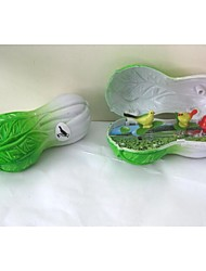 Chinese Cabbage Style Music Boxes For Children