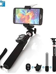 ashutb uitschuifbare bluetooth monopod Selfie stick voor iPhone, Samsung en GoPro camera
