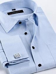 Men's French Cuff Links Business Occupation Wedding Shirt (Cuff Buttons Randomly)