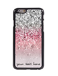 Personalized Phone Case - Shimmering Powder Design Metal Case for iPhone 6 Plus