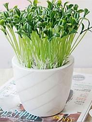 petite germes de soja fleurs de soie faux, plastique