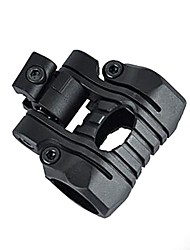 Multi-Position Flashlight Gun Mount for Picatinny Rail