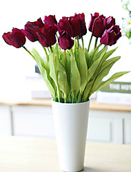 schöne pu Tulpe, 3pcs / set