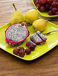 bonbons fruits colorés compote, plastique 21,5 × 21,5 × 2 cm (8,5 × 8,5 × 0,8 pouces) de couleur aléatoire