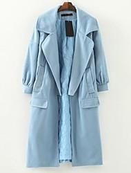 Women's Long Cloth Star Model Coat