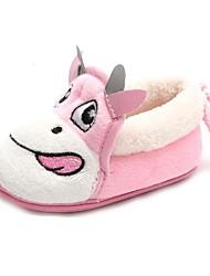 bbgobbworld bebé corderos de lana espesar algodón zapatos botas inferiores antideslizantes en los niños