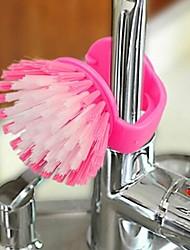 caramelle spazzola pulizia colorato vaso, plastica 17,5 × 11 × 7 centimetri (6,9 × 4,4 × 2,8 pollici) colore casuale