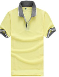 Men's 2015 Summer Pure Casual Short Sleeve Polo Shirt (More Colors)