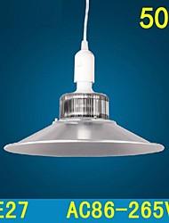 50w e27 a mené la lampe minière conduit lampes suspendues supermarché droplight smd5730 AC85-265V