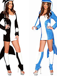 Dolphin Suit Adult Animal Costume Halloween Woman's Costume