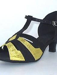 Latin Customizable Women's Sandals Buckie Dance Shoes