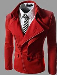 Big Fashion Men's Casual Asymmetrical Suit Blazer