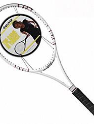 белая углеродного волокна профессиональной игры в теннис ракетки импульса 98W