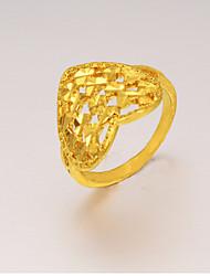 Seven gold Women's Gorgeous 24K Gold Plating Ring