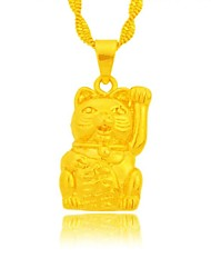 Obsses Gold Plating Pendant