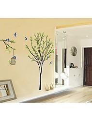 stickers muraux stickers muraux, des arbres et des oiseaux de style pvc stickers muraux