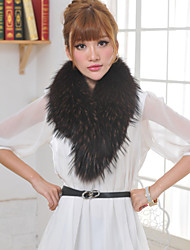 Fur Wraps Fashion Women's Raccoon Fur Wraps