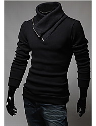 Playgame Men's Casual High Neck Knitwear