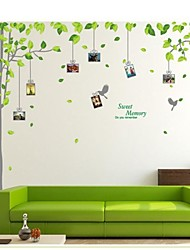 pared calcomanías pegatinas de pared, árbol Photo Sticker pegatinas de pared de pvc