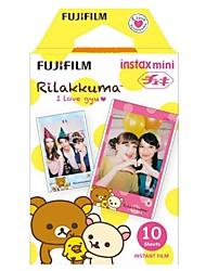 Fujifilm Instax mini-filme colorido instantâneo - rilakuma