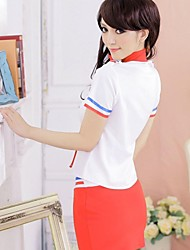 Women'sKTV Night club stewardess dress uniforms temptation sauna suits technicianCotton