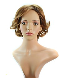 American Short Curly Hair Synthetic Wig