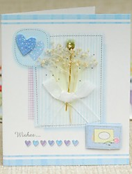Sequined Love Stereo Posted Mini Thank You Card(7.5*9cm)