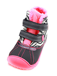 Baby Shoes - Casual - Sneakers alla moda - Di pelle - Rosa