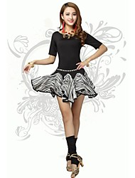Ballet/Latin Dance Women's Fashion Simple Outfit Including Top&Bottom