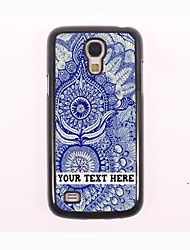 caja del teléfono personalizado - el caso del diseño de metal mural para Samsung Galaxy S4