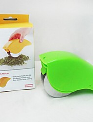 Roller Cutting Broken Vegetable Machine,Plastic 30×22×4 CM(11.9×8.7×1.6 INCH) Random Color
