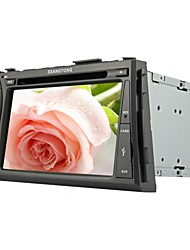 Rungrace 7-inch 2 DinTFT Screen In-Dash Car DVD Player For Ssangyong Acyton Kyron With Bluetooth,Navigation GPS,RDS