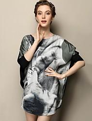 losen dünnen elegent langes T-Shirt der sagetech®women