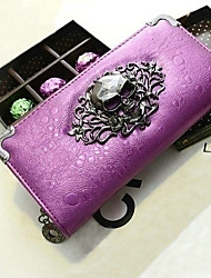 Women's High Quality Europe Retro Punk Skull PU Leather Long Section Wallet(Assorted Colors)