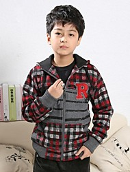 Boy's Cotton Blend Blouse/Hoodie & Sweatshirt/Jacket & Coat , Winter/Spring/Fall Long Sleeve