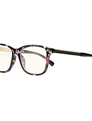 [Free Lenses] Plastic Square Full-Rim Fashion Prescription Computer Eyeglasses