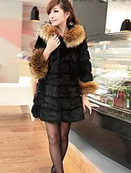 nai.si vrouwen europese luxe warmte goedkope bontjassen