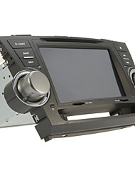 Lettori DVD da 8 pollici per Toyota Highlander (Bluetooth, GPS, iPod, RDS, SD / USB, controllo del volante, touch screen)
