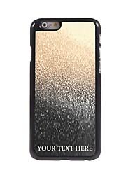 caso de telefone personalizado - gota de caixa de metal design da água para o iPhone 6