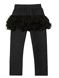 novas calças de malha de moda chegada da menina