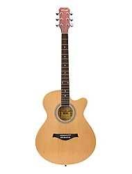 Spruce Student Acoustic Guitar Cutway with Assorted Colours