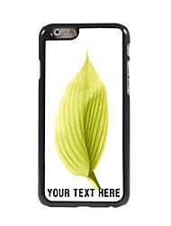 caso de telefone personalizado - folha caso design de metal para o iPhone 6