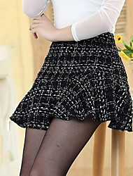 Women's Black Skirts , Casual/Cute/Party Mini