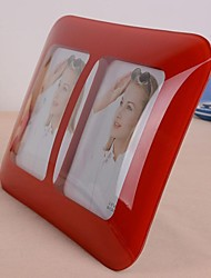 Cambered Surface Stereo Amplifier Photo Frame(Random Colors)