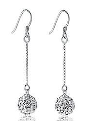 Aimei Women's 925 Silver High Quality Handwork Elegant Earrings