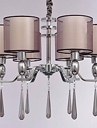 Chandelier ,  Modern/Contemporary Chrome Feature for Crystal Metal Bedroom Dining Room Study Room/Office Hallway