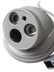 1.3 Megapixel CCTV IP Camera H.264 Dual Stream 4MM Day/Night Waterproof Dome IP Camera And Support Mobile Detection
