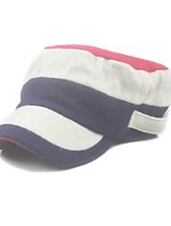 Wolle Streifen, militärische Hut / flachen Hut Unisex