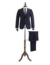 gris tailorde guinga ajuste traje oscuro en lana 100%