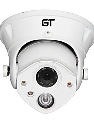 vue gt 1280 * 720p H.264 double flux 4mm andrray / nuit coupole étanche caméra IP de jour